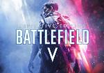 Soldat mit Battlefield 5 Schriftzug